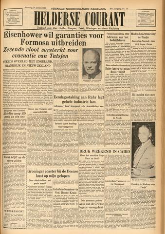 Heldersche Courant 1955-01-24