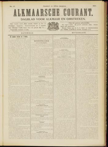 Alkmaarsche Courant 1909-02-20