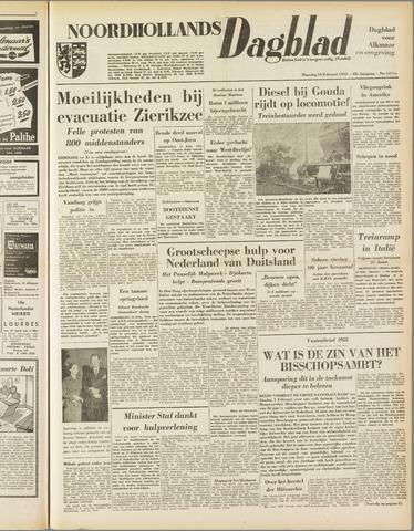 Noordhollands Dagblad : dagblad voor Alkmaar en omgeving 1953-02-16