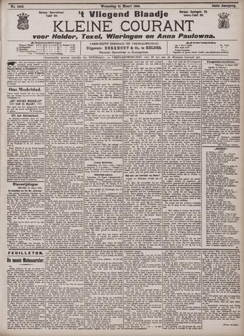Vliegend blaadje : nieuws- en advertentiebode voor Den Helder 1906-03-21
