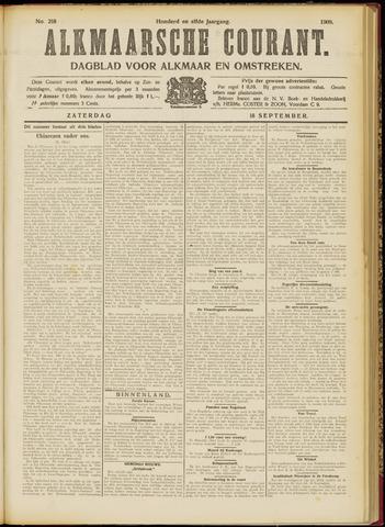 Alkmaarsche Courant 1909-09-18