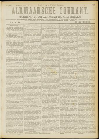 Alkmaarsche Courant 1919-09-29