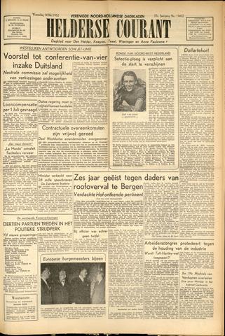 Heldersche Courant 1952-05-14