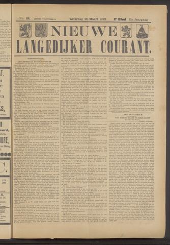 Nieuwe Langedijker Courant 1922-03-18