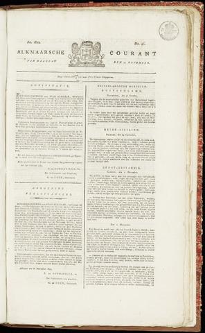 Alkmaarsche Courant 1822-11-11