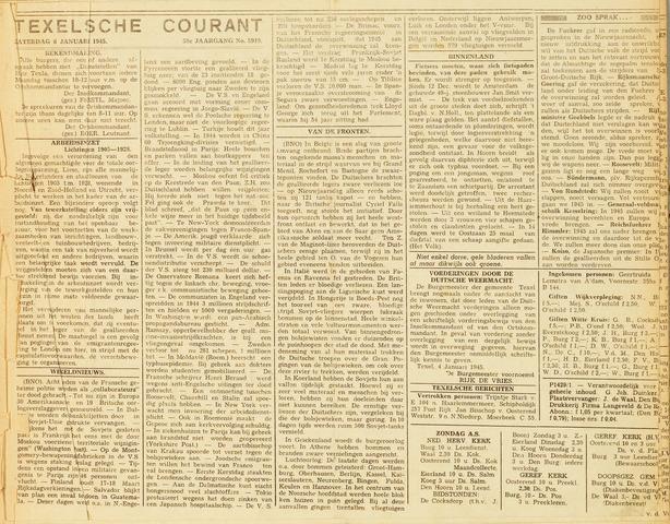 Texelsche Courant 1945