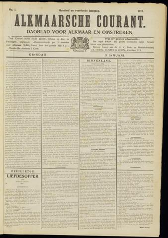 Alkmaarsche Courant 1912-01-02