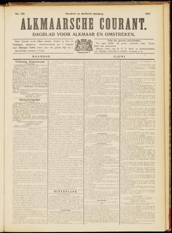 Alkmaarsche Courant 1911-06-12