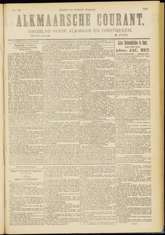 Alkmaarsche Courant 1914-06-24