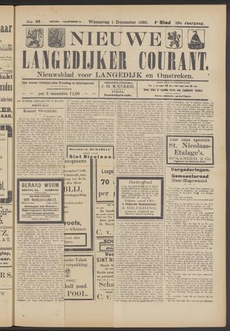 Nieuwe Langedijker Courant 1920-12-01