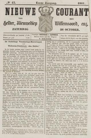Nieuwe Courant van Den Helder 1861-10-26