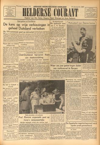 Heldersche Courant 1952-08-06