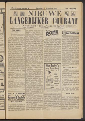 Nieuwe Langedijker Courant 1929-09-21