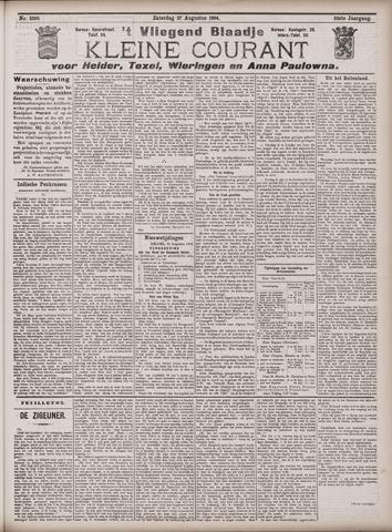 Vliegend blaadje : nieuws- en advertentiebode voor Den Helder 1904-08-27