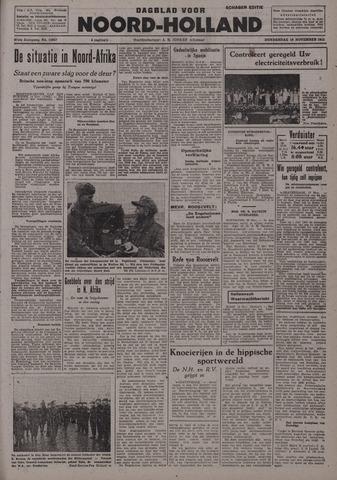 Dagblad Noord-Holland, Schager editie 1942-11-19