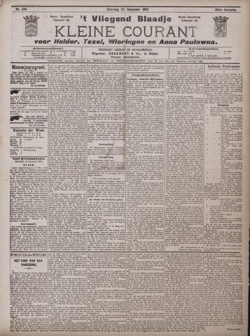 Vliegend blaadje : nieuws- en advertentiebode voor Den Helder 1902-12-27