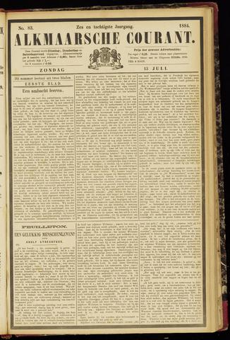 Alkmaarsche Courant 1884-07-13