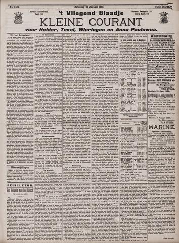 Vliegend blaadje : nieuws- en advertentiebode voor Den Helder 1906-01-20