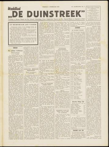 De Duinstreek 1950-02-03