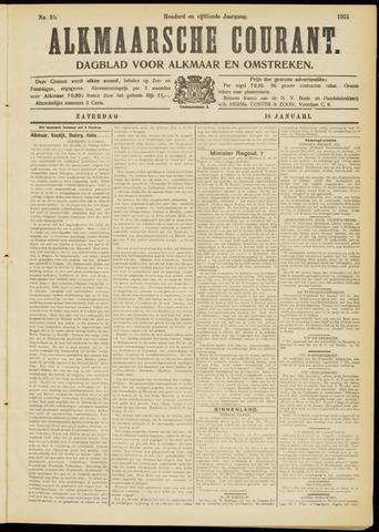 Alkmaarsche Courant 1913-01-18