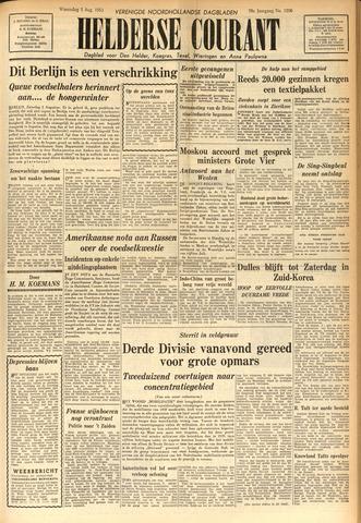 Heldersche Courant 1953-08-05