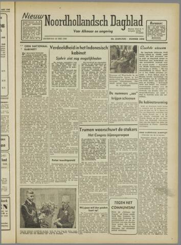 Nieuw Noordhollandsch Dagblad : voor Alkmaar en omgeving 1946-05-25