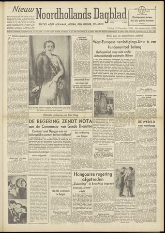 Nieuw Noordhollandsch Dagblad : voor Alkmaar en omgeving 1948-12-10