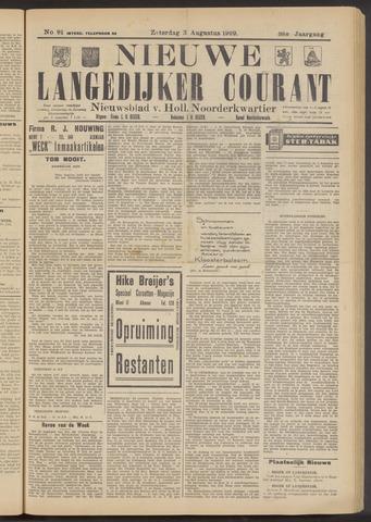 Nieuwe Langedijker Courant 1929-08-03