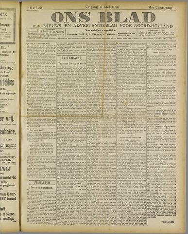 Ons Blad : katholiek nieuwsblad voor N-H 1919-05-09