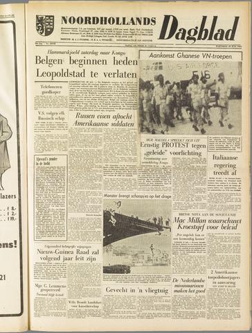 Noordhollands Dagblad : dagblad voor Alkmaar en omgeving 1960-07-20
