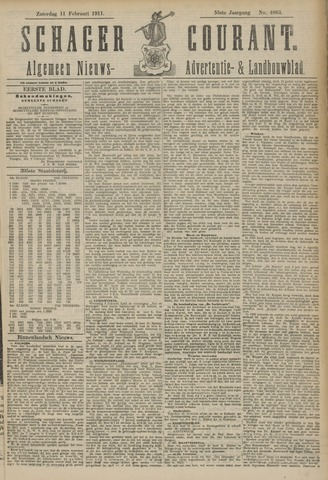 Schager Courant 1911-02-11