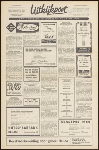 Uitkijkpost : nieuwsblad voor Heiloo e.o. 1966-12-15
