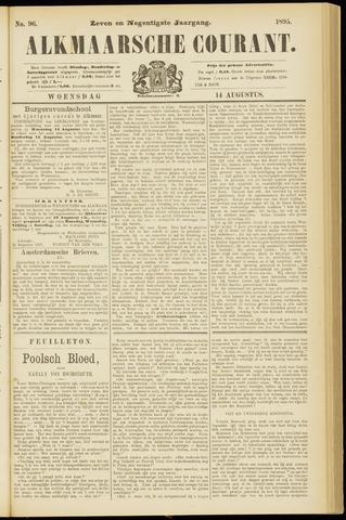 Alkmaarsche Courant 1895-08-14