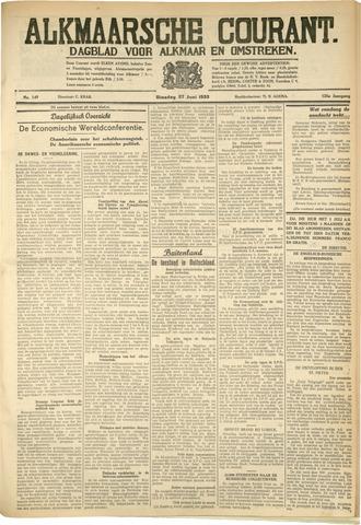 Alkmaarsche Courant 1933-06-27