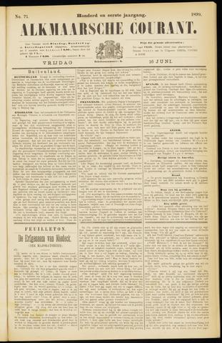 Alkmaarsche Courant 1899-06-16