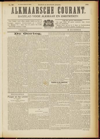 Alkmaarsche Courant 1915-12-10