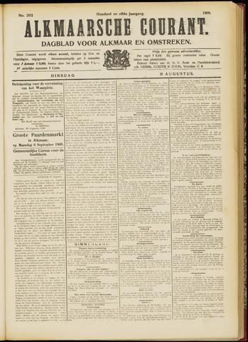 Alkmaarsche Courant 1909-08-31