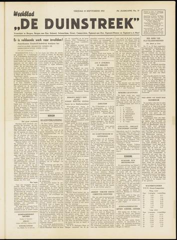De Duinstreek 1952-09-19