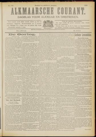 Alkmaarsche Courant 1916-07-31