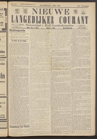 Nieuwe Langedijker Courant 1932-05-07