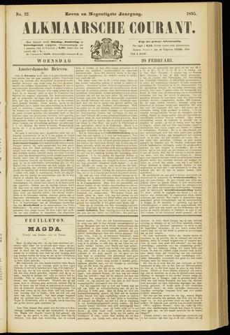 Alkmaarsche Courant 1895-02-20