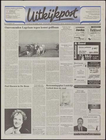 Uitkijkpost : nieuwsblad voor Heiloo e.o. 1997-11-05
