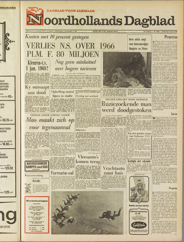 Noordhollands Dagblad : dagblad voor Alkmaar en omgeving 1967-01-12