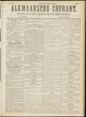 Alkmaarsche Courant 1908-10-24