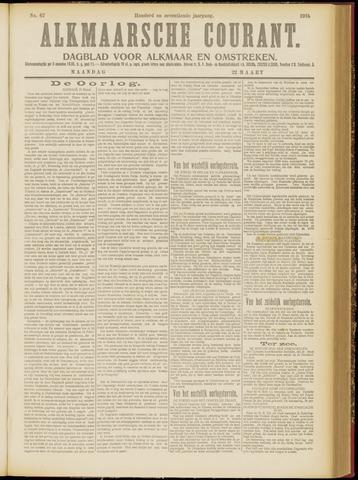 Alkmaarsche Courant 1915-03-22