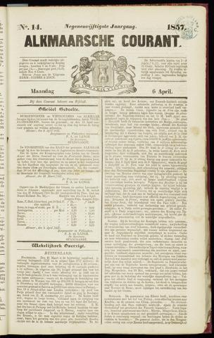 Alkmaarsche Courant 1857-04-06