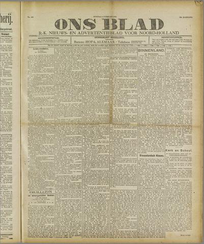 Ons Blad : katholiek nieuwsblad voor N-H 1921-02-08