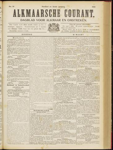 Alkmaarsche Courant 1908-03-10