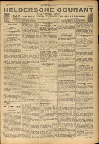 Heldersche Courant 1923-02-08