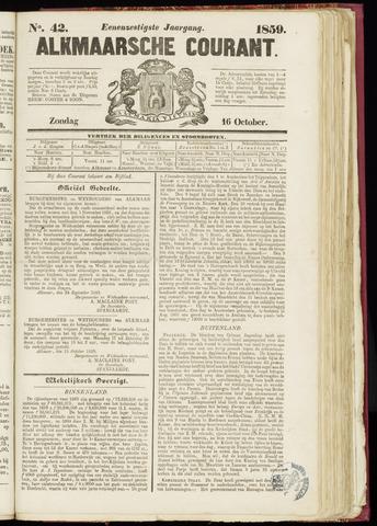 Alkmaarsche Courant 1859-10-16